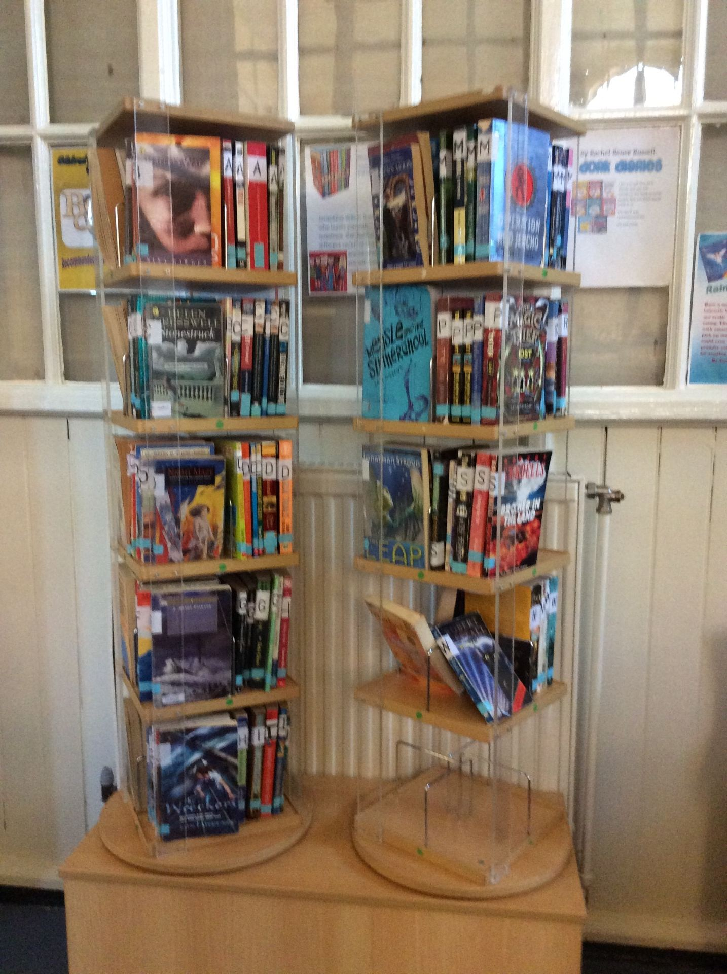 applegarth primary school blog new book stand creates excitement